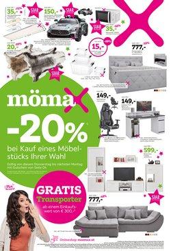 Mömax Katalog ( Gestern veröffentlicht)