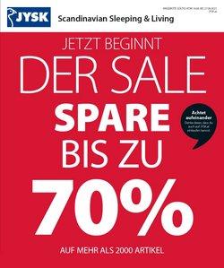 Angebote von Möbel & Wohnen im JYSK Prospekt ( 4 Tage übrig)