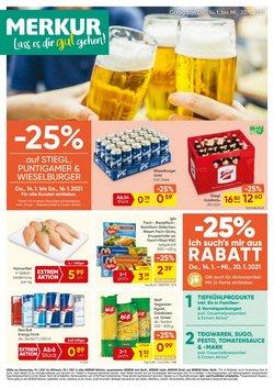 Angebote von Supermärkte im MERKUR Markt Prospekt in Wels ( 2 Tage übrig )