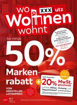 Angebote von Möbel & Wohnen im XXXLutz Prospekt ( 2 Tage übrig)