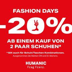 Angebote von Humanic im Humanic Prospekt ( 14 Tage übrig)