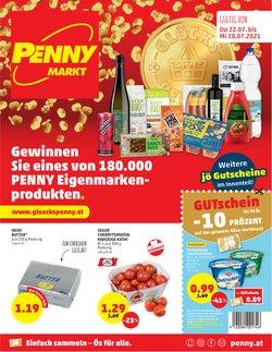 Angebote von Supermärkte im Penny Prospekt ( Läuft heute ab)