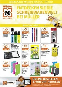 Angebote von Bücher & Bürobedarf im Müller Prospekt ( Läuft heute ab)