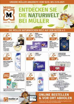 Angebote von Drogerien & Parfümerien im Müller Prospekt ( 2 Tage übrig)