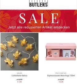 Angebote von Butlers im Butlers Prospekt ( 3 Tage übrig)