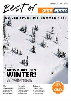 Angebote von Sport im Gigasport Prospekt in Wels ( Mehr als 30 Tage )
