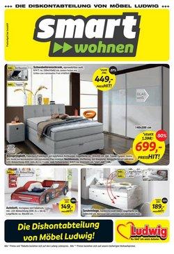 Angebote von Möbel Ludwig im Möbel Ludwig Prospekt ( 5 Tage übrig)