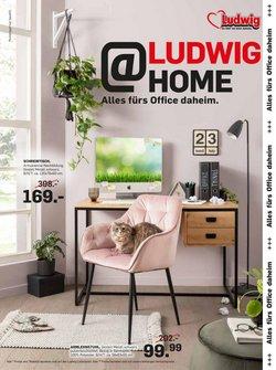 Angebote von Möbel & Wohnen im Möbel Ludwig Prospekt ( Läuft heute ab)