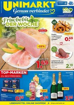 Angebote von Unimarkt im Unimarkt Prospekt ( Abgelaufen)