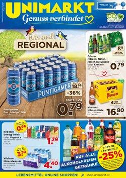 Angebote von Unimarkt im Unimarkt Prospekt ( Gestern veröffentlicht)