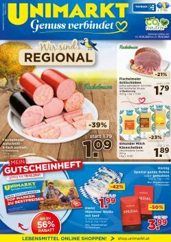 Angebote von Unimarkt im Unimarkt Prospekt ( 2 Tage übrig)