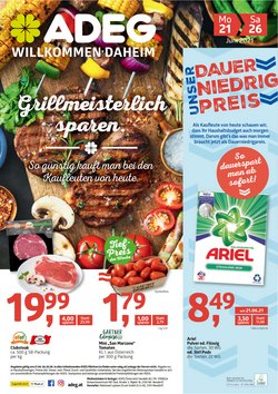 Angebote von Supermärkte im ADEG Prospekt ( Gestern veröffentlicht)