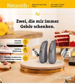 Angebote von Apotheken & Gesundheit im Neuroth Prospekt ( Läuft heute ab)