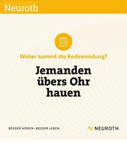 Angebote von Apotheken & Gesundheit im Neuroth Prospekt ( 12 Tage übrig)