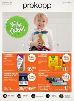 Angebote von Drogerien & Parfümerien im Prokopp Prospekt ( 8 Tage übrig )