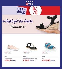 Angebote von Shoe4you im Shoe4you Prospekt ( 10 Tage übrig)