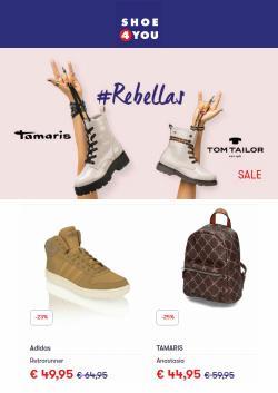 Angebote von Shoe4you im Shoe4you Prospekt ( 12 Tage übrig)