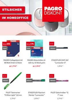 Angebote von Bücher & Bürobedarf im Pagro-Diskont Prospekt ( 27 Tage übrig)