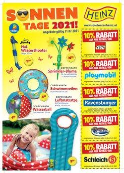 Angebote von Spielzeug & Baby im Spielwaren Heinz Prospekt ( Läuft morgen ab)