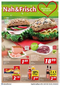 Angebote von Nah & Frisch im Nah & Frisch Prospekt ( 4 Tage übrig)