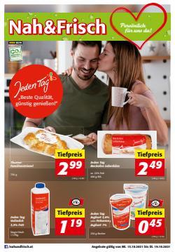 Angebote von Nah & Frisch im Nah & Frisch Prospekt ( 2 Tage übrig)