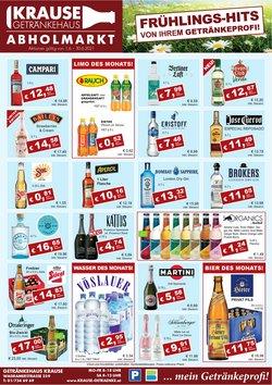 Angebote von Krause Getränke im Krause Getränke Prospekt ( 7 Tage übrig)