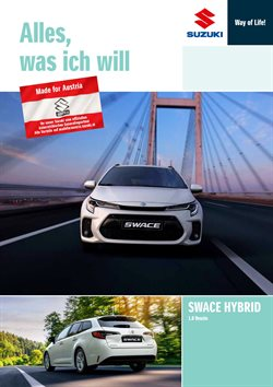 Angebote von Suzuki im Suzuki Prospekt ( Mehr als 30 Tage)
