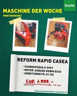 Angebote von Baumärkte & Gartencenter im BayWa Prospekt in Wels ( 12 Tage übrig )