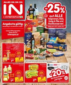 Angebote von Supermärkte im Interspar Prospekt in Wels ( Neu )