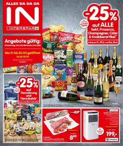 Angebote von Supermärkte im Interspar Prospekt ( 7 Tage übrig)