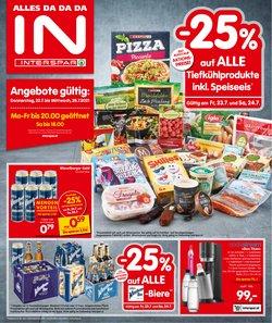 Angebote von Supermärkte im Interspar Prospekt ( Läuft heute ab)