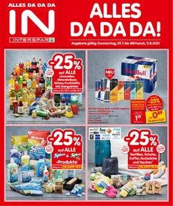 Angebote von Supermärkte im Interspar Prospekt ( Neu)