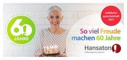 Angebote von Apotheken & Gesundheit im Hansaton Prospekt ( Mehr als 30 Tage)