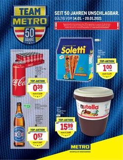 Angebote von Supermärkte im Metro Prospekt in Wels ( 2 Tage übrig )