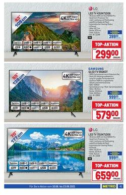 Angebote von Samsung im Metro Prospekt ( Läuft heute ab)