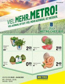Angebote von Supermärkte im Metro Prospekt ( 5 Tage übrig)