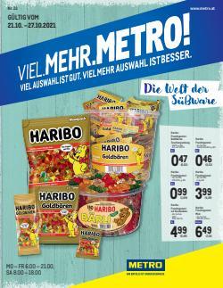 Angebote von Metro im Metro Prospekt ( 11 Tage übrig)