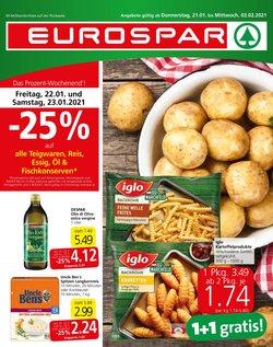 Eurospar Katalog in Linz ( 6 Tage übrig )
