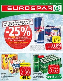 Angebote von Eurospar im Eurospar Prospekt ( 12 Tage übrig)