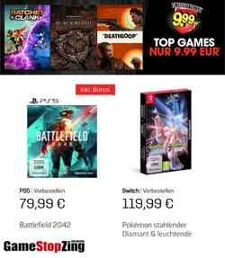 Angebote von GameStop im GameStop Prospekt ( 23 Tage übrig)