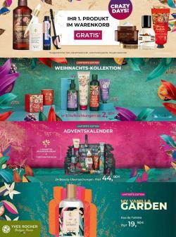 Angebote von Drogerien & Parfümerien im Yves Rocher Prospekt ( 8 Tage übrig)