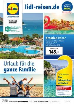 Angebote von Reisen im Lidl Reisen Prospekt in Wels ( 12 Tage übrig )