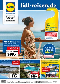 Angebote von Reisen im Lidl Reisen Prospekt in Steyr ( 24 Tage übrig )