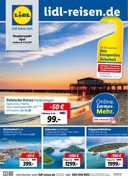 Lidl Reisen Katalog ( 7 Tage übrig )