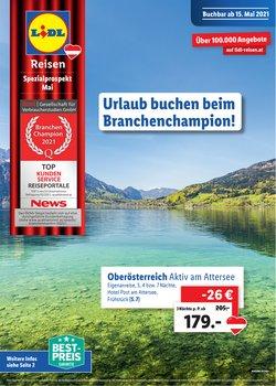 Angebote von Lidl im Lidl Reisen Prospekt ( 27 Tage übrig)