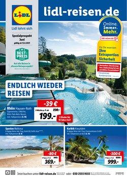 Angebote von Reisen im Lidl Reisen Prospekt ( 17 Tage übrig)