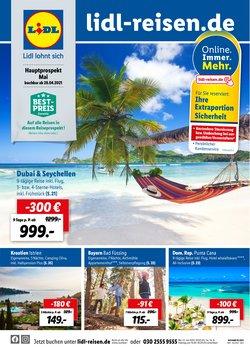 Angebote von Reisen im Lidl Reisen Prospekt ( 3 Tage übrig)