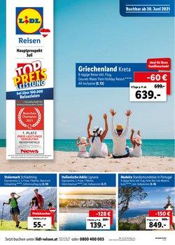 Angebote von Reisen im Lidl Reisen Prospekt ( Mehr als 30 Tage)