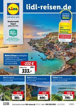 Angebote von Reisen im Lidl Reisen Prospekt ( Vor 2 Tagen)
