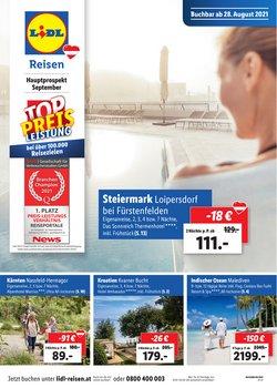 Angebote von Reisen im Lidl Reisen Prospekt ( 7 Tage übrig)